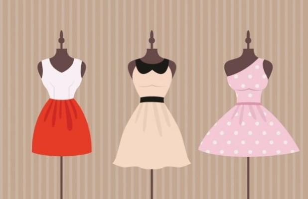 szwalnia odzieży rozkloszowane sukienki